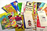 Large Lot of Vintage 1960s 1970s Greeting Cards