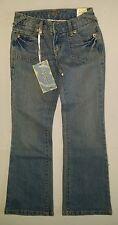 Girls blue boot cut Premium Denim jeans size 8 by Jade, New!