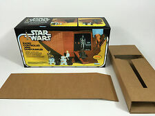 brand new star wars jawa sandcrawler box and inserts sand crawler