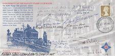 Endowment RAFLET Stamp Club Room Signed 18 Pilots, Crew, WAAF, Test Pilot