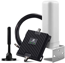 Cell Phone Signal Booster for Car, Truck, SUV and RV - Boosts 4G LTE Band Data &