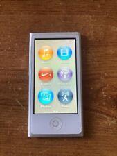 Apple iPod nano 7th Generation Silver 16GB Bluetooth