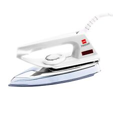 Cello Plug N Press 100 750-Watt Iron (White) With Universal plug