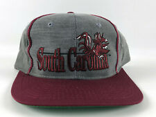 South Carolina Gamecocks Vintage Snapback Baseball Hat - The Game - Gray Red