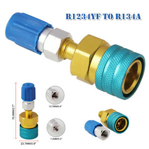 R1234YF to R134a Low Side Quick Coupler Adapter Set Car Air Conditioning Fitting