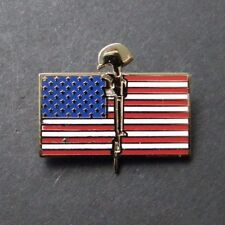 Usa Flag Honor Memorial Remember The Fallen Lapel Pin 1 Inch