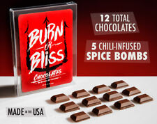 Burn or Bliss Chocolate Challenge Hellishly Hot Chocolate Roulette Challenge