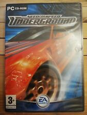 Need for Speed Underground PC DVD Computer Video Game UK Release Mint Condition