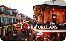 Kühlschrankmagnet,Magnetschild,Magnet-Motiv:I`Love New Orleans II