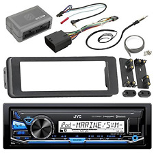 JVC KDX33MBS Marine Radio Stereo Receiver For 1998 2013 Harley Davidson Touring