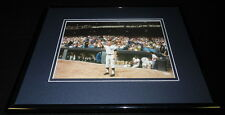 Mickey Mantle Crowd Salute Framed 11x14 Photo Display Yankees