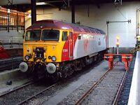 Class 57 57304 6x4 Quality British Rail Photo