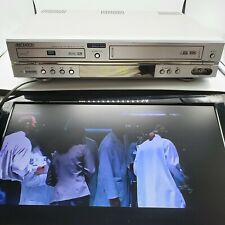 SAMSUNG DVD VCR VHS COMBO PLAYER COMPLETE  CABLES - TESTED DVD-V2500