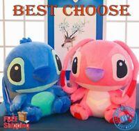 BEST PRICE 35-80cm Cartoon Stitch Lilo Plush Puppy Toys Children Present Gift