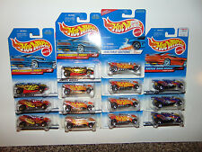 14) Hot Wheels TURBO FLAME 1996 FE LOT Vintage DIECAST GREAT FOR CUSTOMS SIZZLER