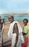 CPA DJIBOUTI TYPES DANKALIS