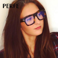 Women Retro Square Optical Glasses Clear Lens Fashion Myopia Glasses Frame New