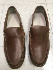 Cole Haan, Men's Nice Brown Leather Driving Loafers Shoes, size 11M
