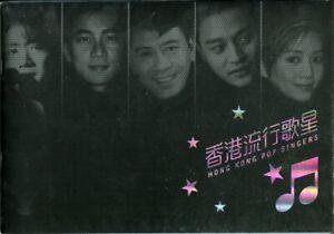Hongkong 2005 Popsänger Pop Singers Musik Music Block 151-155 Booklet Folder MNH