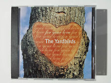 "THE YARDBIRDS ""FOR YOUR LOVE"" EXCLUSIVE & RARE SPANISH CD FROM ""ROCK"" COLLECTION"