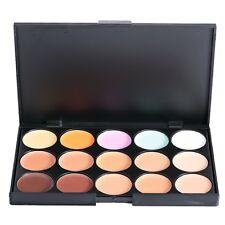 15 Colores Mate Corrector Crema Maquillaje Paleta de Contorno Rostro Cosmético