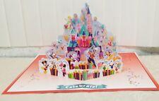 Disney Magic Kingdom POP UP Card Celebrate LG  Party Birthday Mickey new sealed