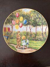 Vintage Plate The Balloon Man Dominic Mingolla 1979 Calhouns Collectors Society
