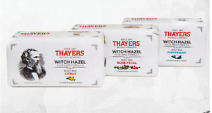 Thayers Witch Hazel Aloe Vera Body Bar ROSE PETAL or PEPPERMINT soap organic