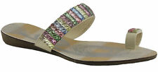 Women's Synthetic Slides Flats