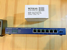 Bay Networks NETGEAR 6-Port 10/100 Dual Speed Hub w/ Uplink Button DS106
