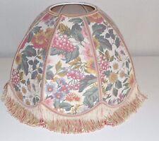 Vintage Retro St Michael M&S Floral Lamp Shade Light Pendant Scalloped