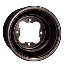 "DWT Ultimate G2 Rear Rolled Lip Wheel BLACK 9"" 9x8 3+5 4/110 Suzuki LTZ400 Z400"