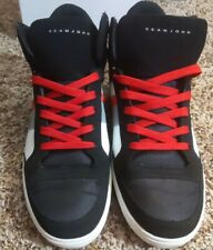 Size 11 Sean Jean Rainero Hi Black/Red Shoe