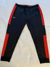 ST JOHN'S RED STORM UNDER ARMOUR TRACK PANT MENS 2XL NY BASKETBALL BIG EAST BLUE