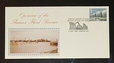 GB FDC Opening of the Thames Flood Barrier 8/5/84 LONDON (NoL608)