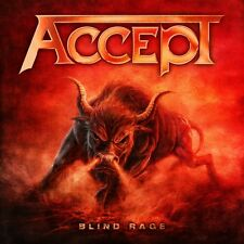 "ACCEPT BLIND RAGE SUPER DELUXE EDITION CD+BLU-RAY+DVD+2 VINILI 7"" NUOVO"