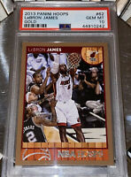 🔥RARE POP 4 2013 LeBron James PANINI NBA HOOPS GOLD #62 PSA 10 BGS lakers kobe