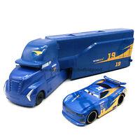 Mattel Disney Pixar Cars Daniel Swervez No19 Hauler 1:55 Diecast Model Loose Toy