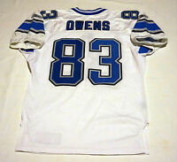 #83 John Owens of Detroit Lions NFL Locker Room Game Issued Jersey