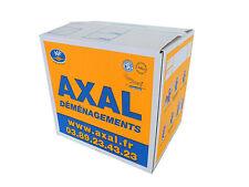 CARTONS DE DEMENAGEMENT : le pack de 10 cartons livres 35x27.5x33