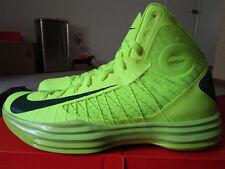 NEW Nike Hyperdunk 2012 Volt/ Gorge Green Men's size 13 basketball shoes NIB