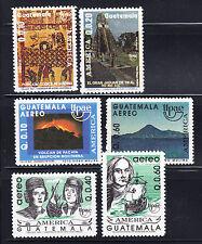 Guatemala 1990-1992  America Three complete mint never hinged sets