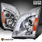 For 2008-2014 Cadillac CTS LED Strip Projector Headlights Lamps Left+Right 08-14  for sale