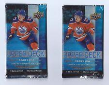 2016-17 UD Series 1 Upper Deck Hockey 2 Pack Retail Blaster 5 Cards per Pack