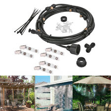 6pcs 6m Sprinkler Outdoor Garden Misting Cooling System Water Kit System