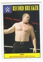 2016 Topps WWE Heritage Wrestling Record Breakers Insert #29 Kane