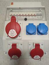 Wandverteiler CEE-Verteiler ROS-11-x14 1xCEE32, 2xCEE16, 2xSchuko inkl. LSS
