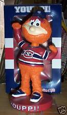 Youppi The Mascot Montreal Canadiens PROMOTIONAL Bobble Bobblehead SGA from 2005