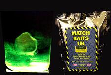 MatchbaitsUk 450g of GlowBait GroundBait, Carp, Coarse fishing in Green or Red