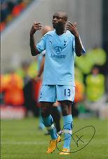 William GALLAS SIGNED Autograph 12x8 COA Photo AFTAL Tottenham Hotspur